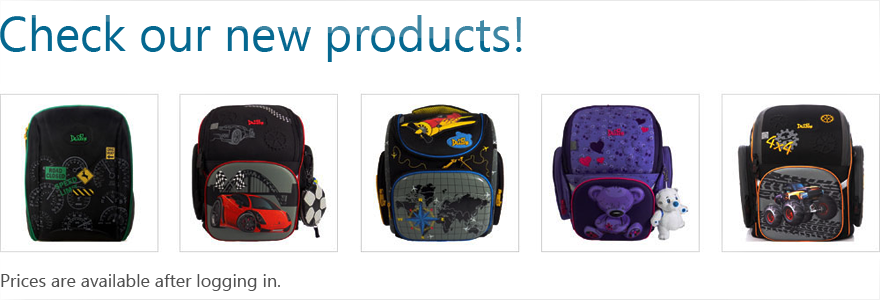 Winner Europe, Backpacks at wholesale prices, Bags, School bags